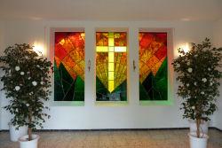 Mosaikglasfenster